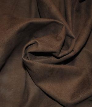 Замша светло-коричневая