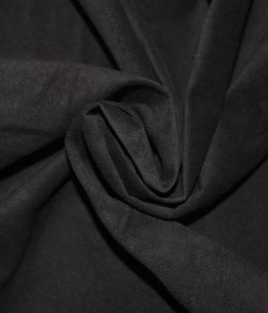 Замша темно-коричневая