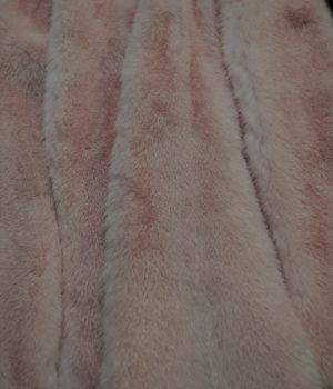 Норка импорт розовая