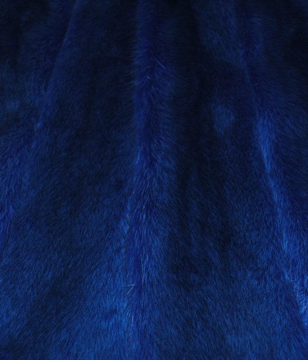 Норка импорт синяя