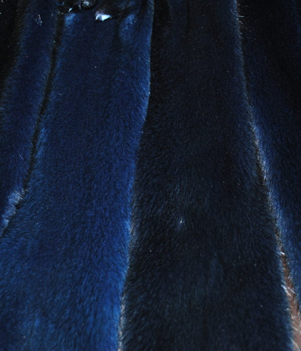 Норка импорт темно синяя