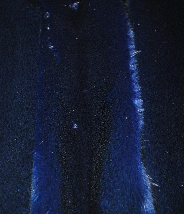 Норка темно синяя самец