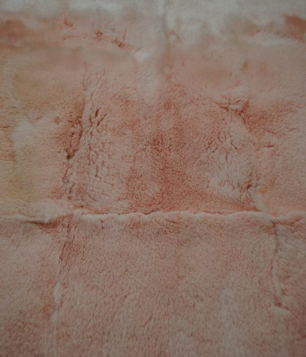 Кролик Рекс нежно-розовый