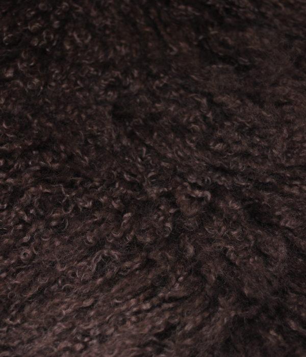 Лама темно коричневая
