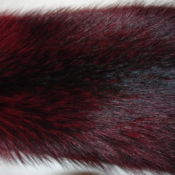 Енот темно-бордовый