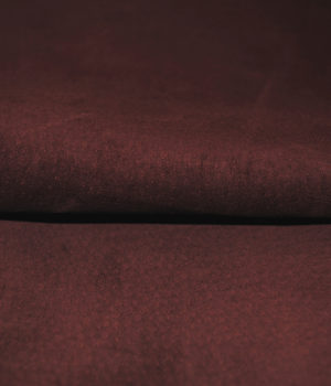 Замша темно-бордовая